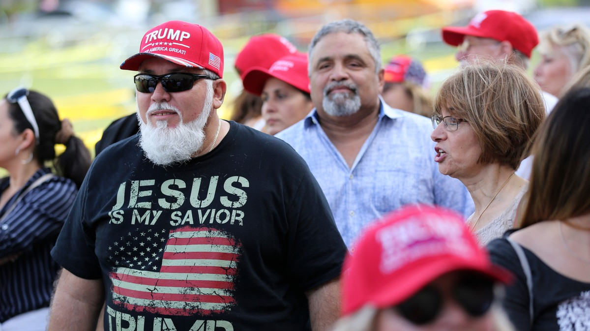 Trump Is Holding His First 2020 MAGA Rally at a Tax-Exempt Megachurch
