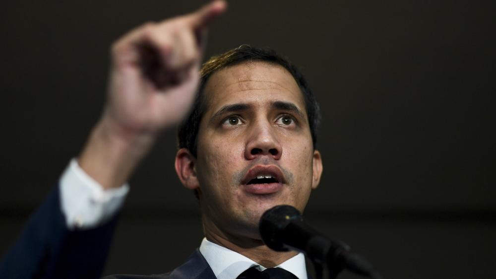 Venezuela's Guaido blocked from Congress in crucial vote