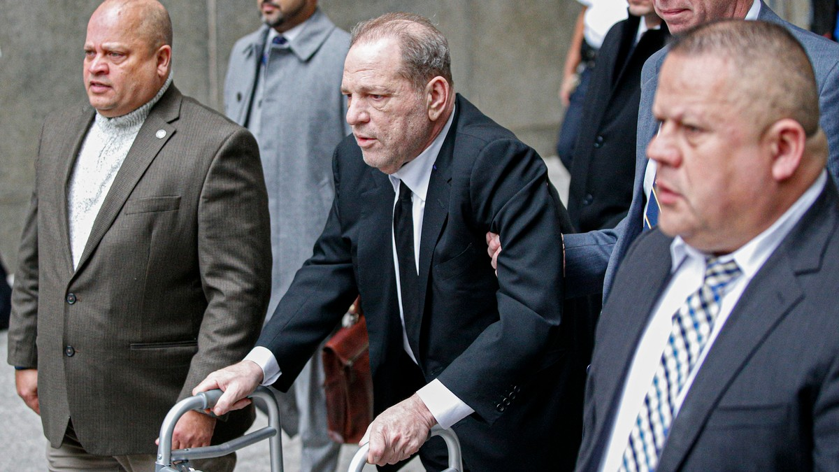 Harvey Weinstein Just Got Charged With Assaulting 2 Women in 2 Days