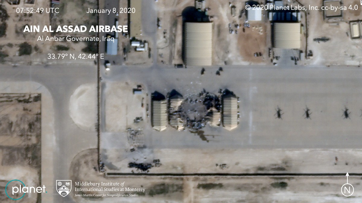 These Satellite Photos Sure Look Like Iran Was Trying to Avoid Casualties