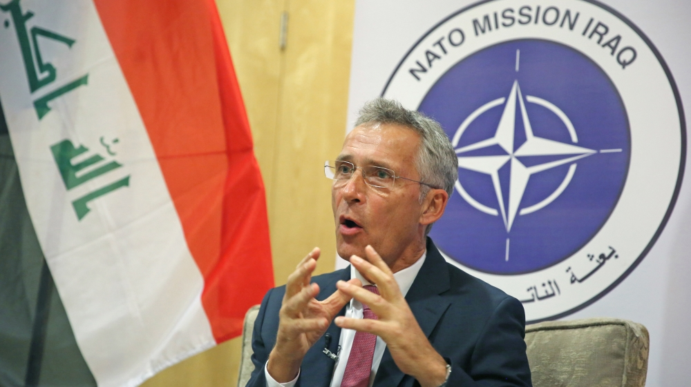 NATO heeds Trump's call to be 'more involved' in Middle East
