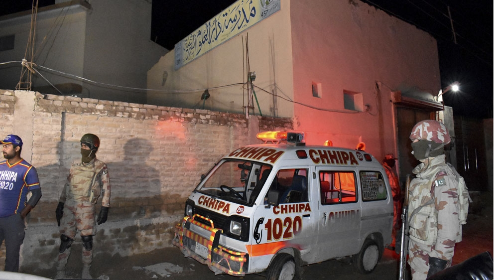 Bomb attack targets worshipers at Quetta mosque, killing 14