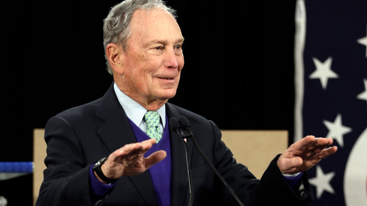 Bloomberg Vows to Bury Trump With His Billions — Even If He's Not the Nominee