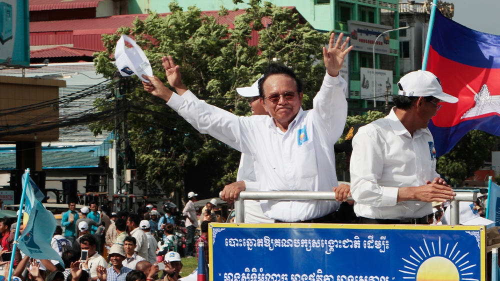 Cambodia's Kem Sokha faces court on controversial treason charge