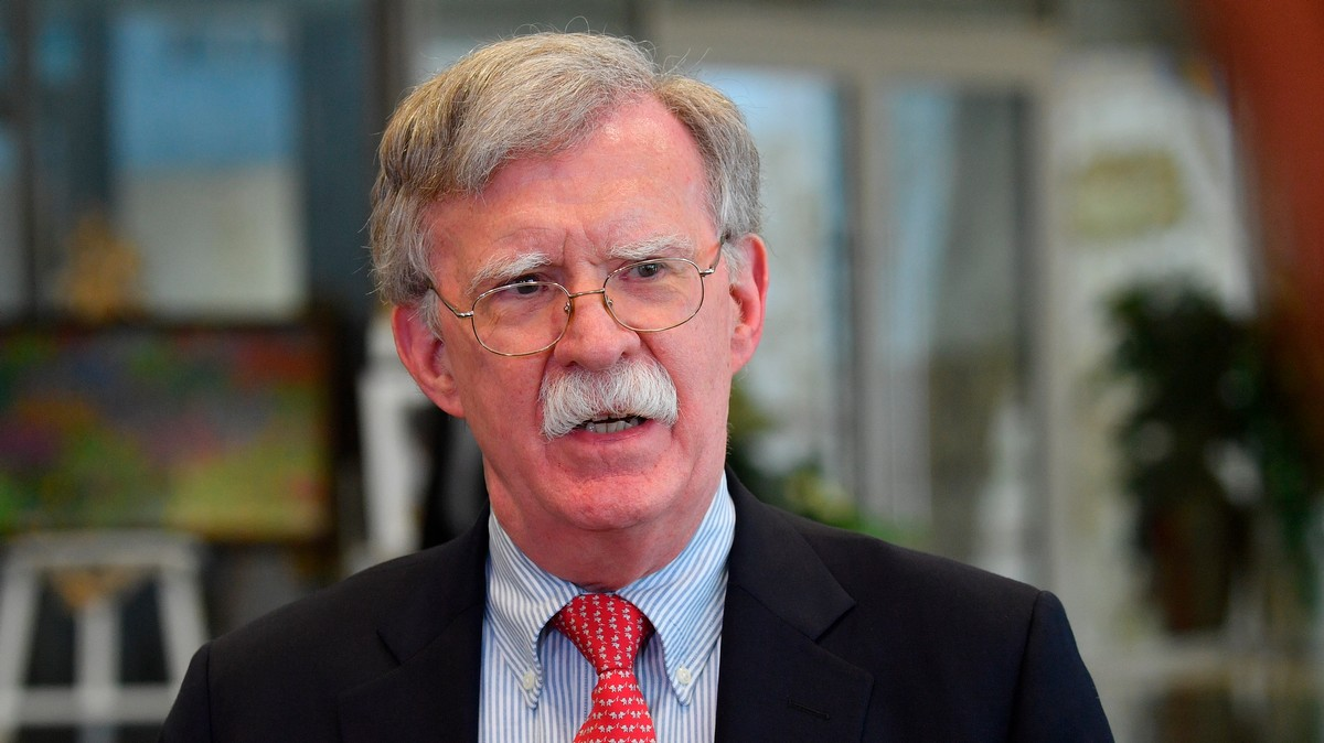 President Trump Is Very Mad at John Bolton