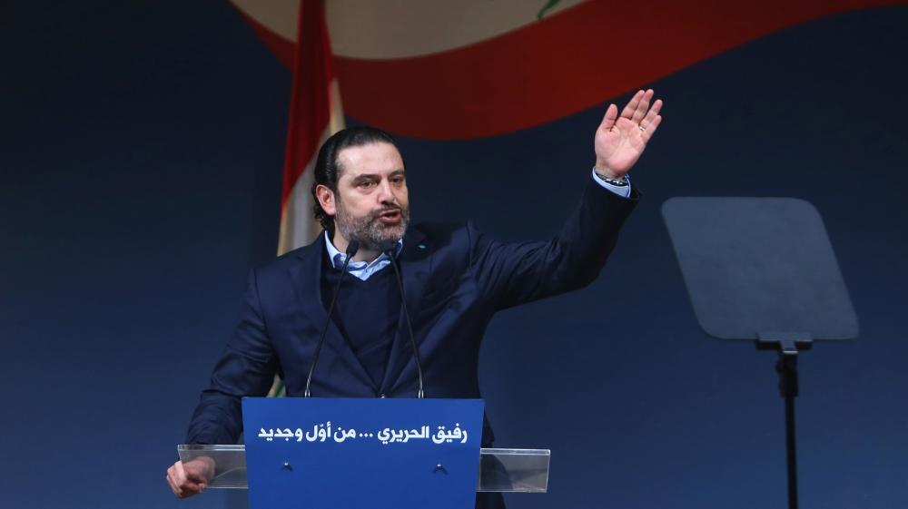Defiant, Lebanon's Hariri says deal with Aoun is 'history'