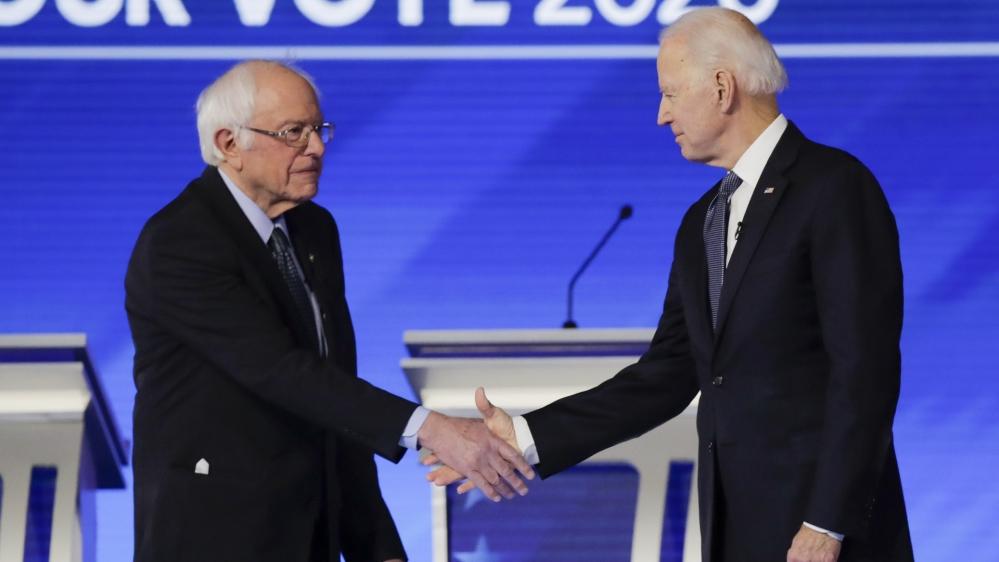 Sanders, Biden prepare for long slog to US Democratic nomination