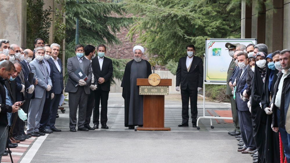 Iran's Rouhani says COVID-19 measures may be eased within weeks