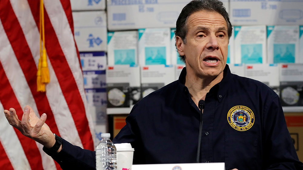 At least 385 dead as NY cases spike, hospitals overwhelmed: Cuomo