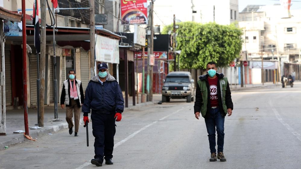 Palestinian groups cancel mass Gaza rallies due to coronavirus