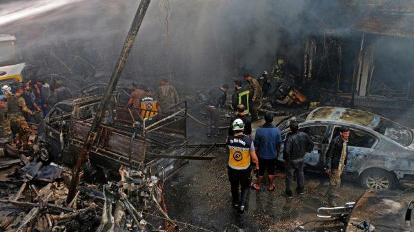 Fuel truck bomb blast kills dozens in Syria's Afrin: Turkey