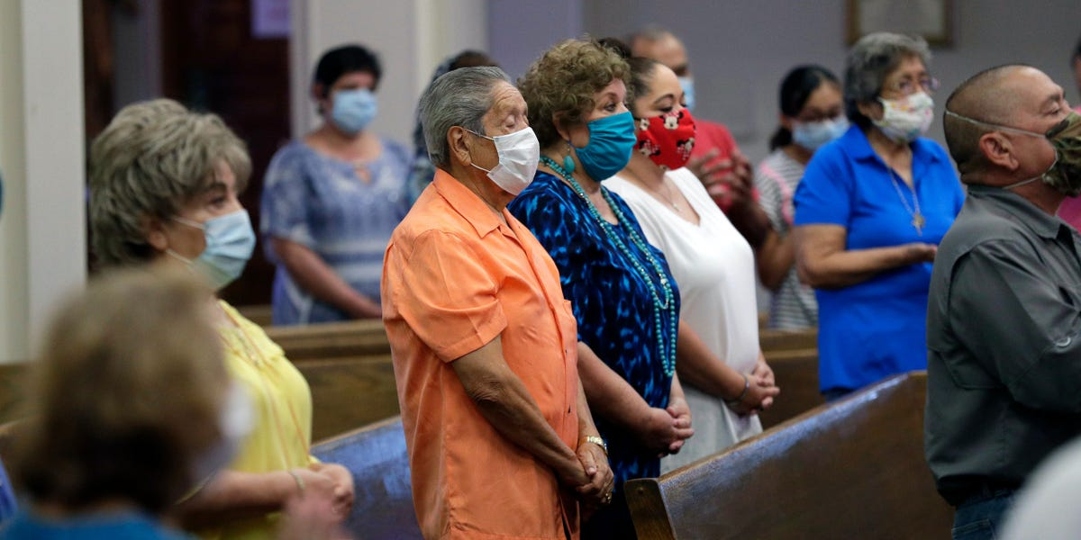 Houses of worship, which Trump says are essential, are coronavirus hotspots