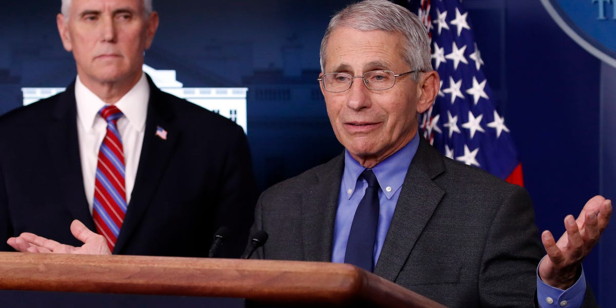Anthony Fauci warns of 'irreparable damage' if lockdowns are kept in place for too long