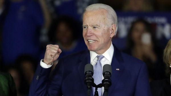 Joe Biden winning 'lesser-of-two-evils' vote that helped Donald Trump beat Hillary Clinton