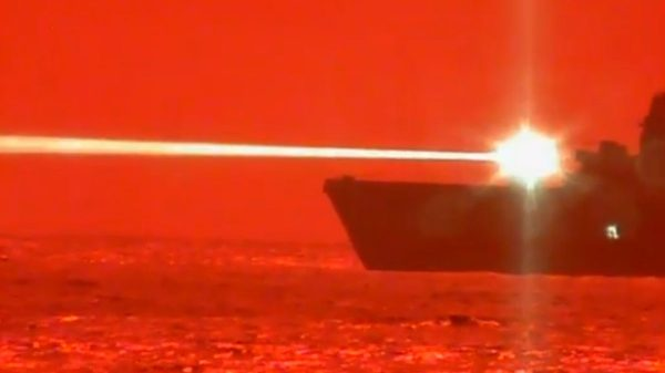 Navy tests new laser weapon ideal for Iranian threats; success 'redefining war at sea'