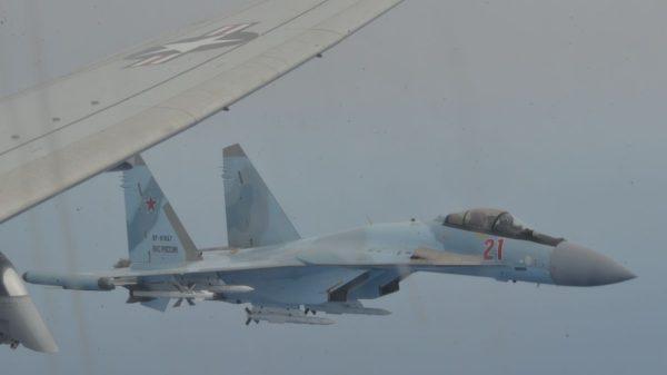 Russian fighter jets intercept U.S. Navy patrol aircraft over Mediterranean Sea