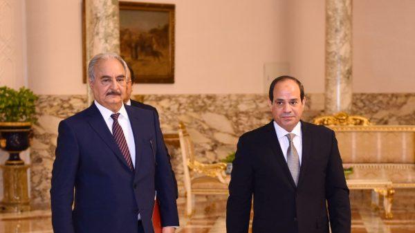 Egypt's el-Sisi says Haftar backs Libya ceasefire |NationalTribune.com