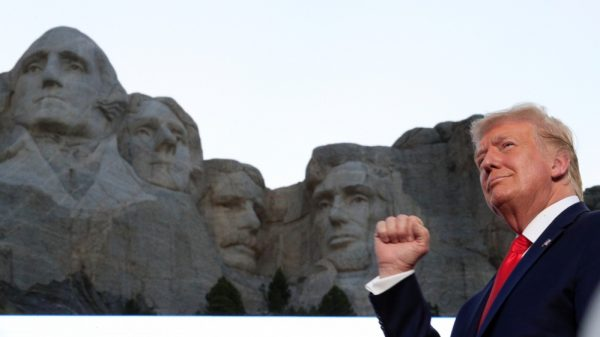 Trump blasts 'left-wing cultural revolution' at Mount Rushmore |NationalTribune.com