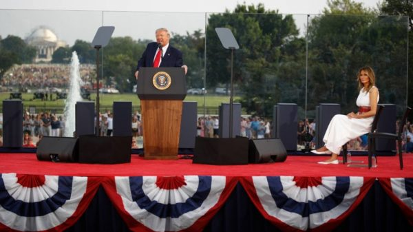 Trump in campaign mode at White House's Independence Day event |NationalTribune.com