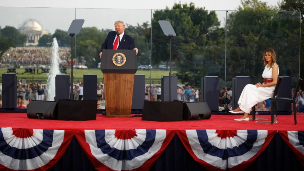 Trump in campaign mode at White House's Independence Day event  NationalTribune.com