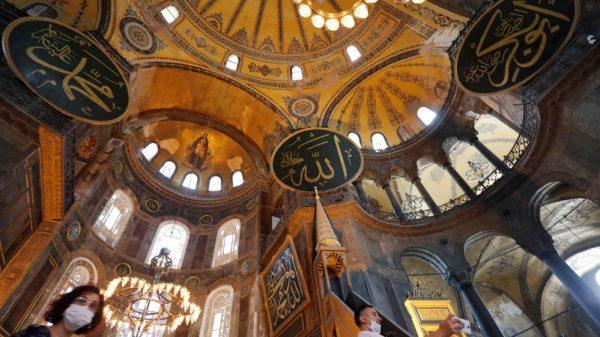 Turkey turning Hagia Sophia back into mosque divides social media  NationalTribune.com
