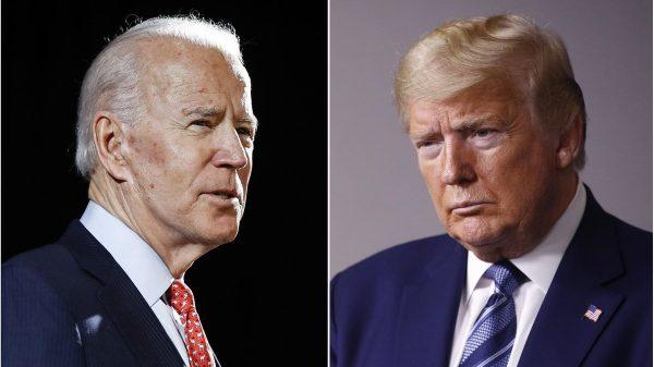 Joe Biden tops Donald Trump in national poll, but lead shrinking