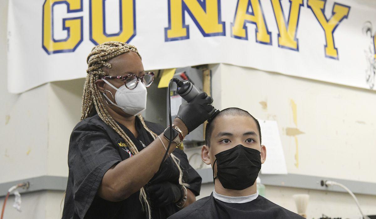 Navy Academy Induction Day, Plebes, parents adjust to coronavirus