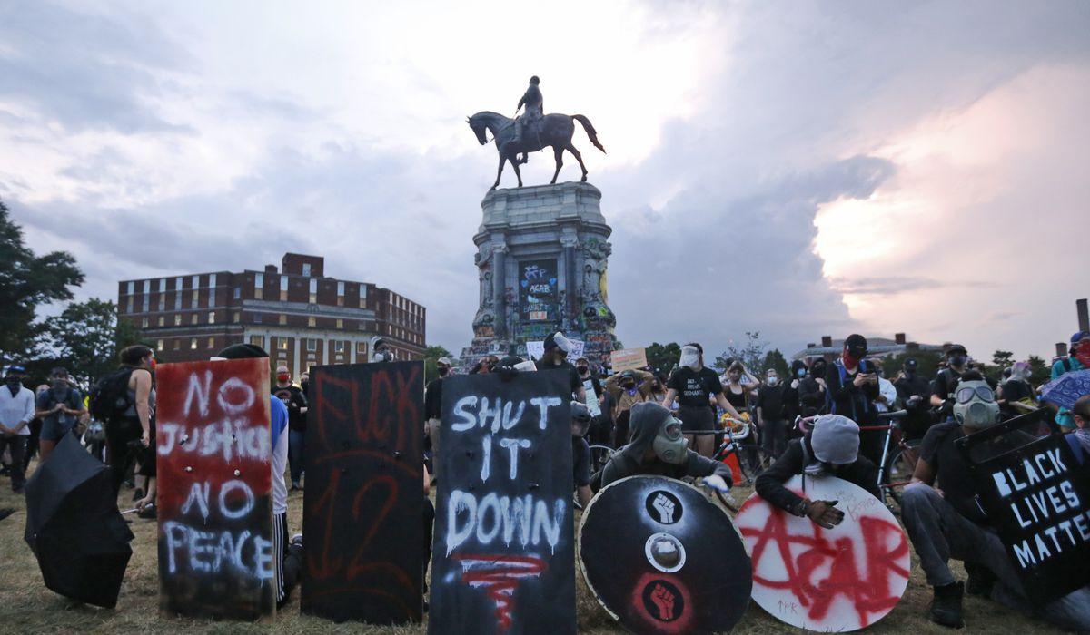 Joe Biden draws 'distinction' between vandalizing Confederate monuments and other memorials