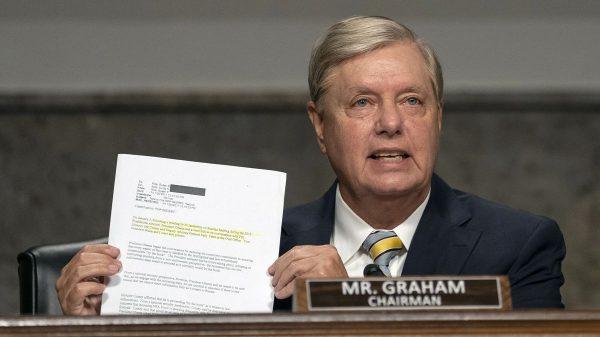 Lindsey Graham says FBI claim on Christopher Steele source is 'new crime'