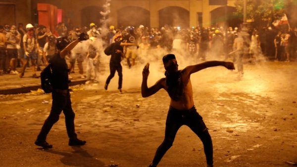 Beirut police fire tear gas as protesters regroup: Live updates |NationalTribune.com