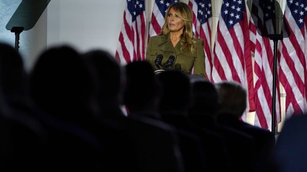 Melania Trump in RNC speech calls for unity during racial unrest