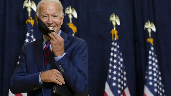 Biden says he's in better shape than Trump: 'Just look at us'