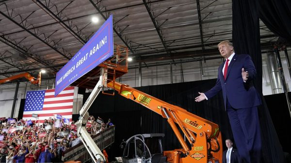 Trump at Henderson, Nevada rally rips Biden as unfit to be president