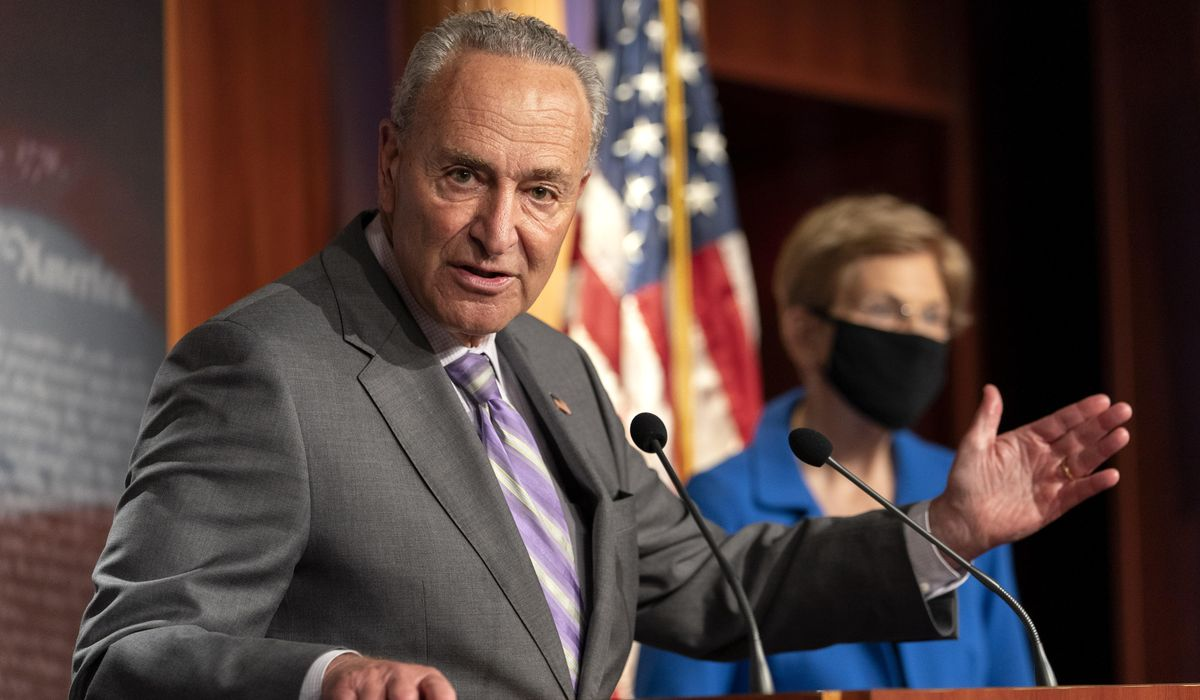 Charles Schumer calls on HHS Secretary Azar to resign over COVID-19