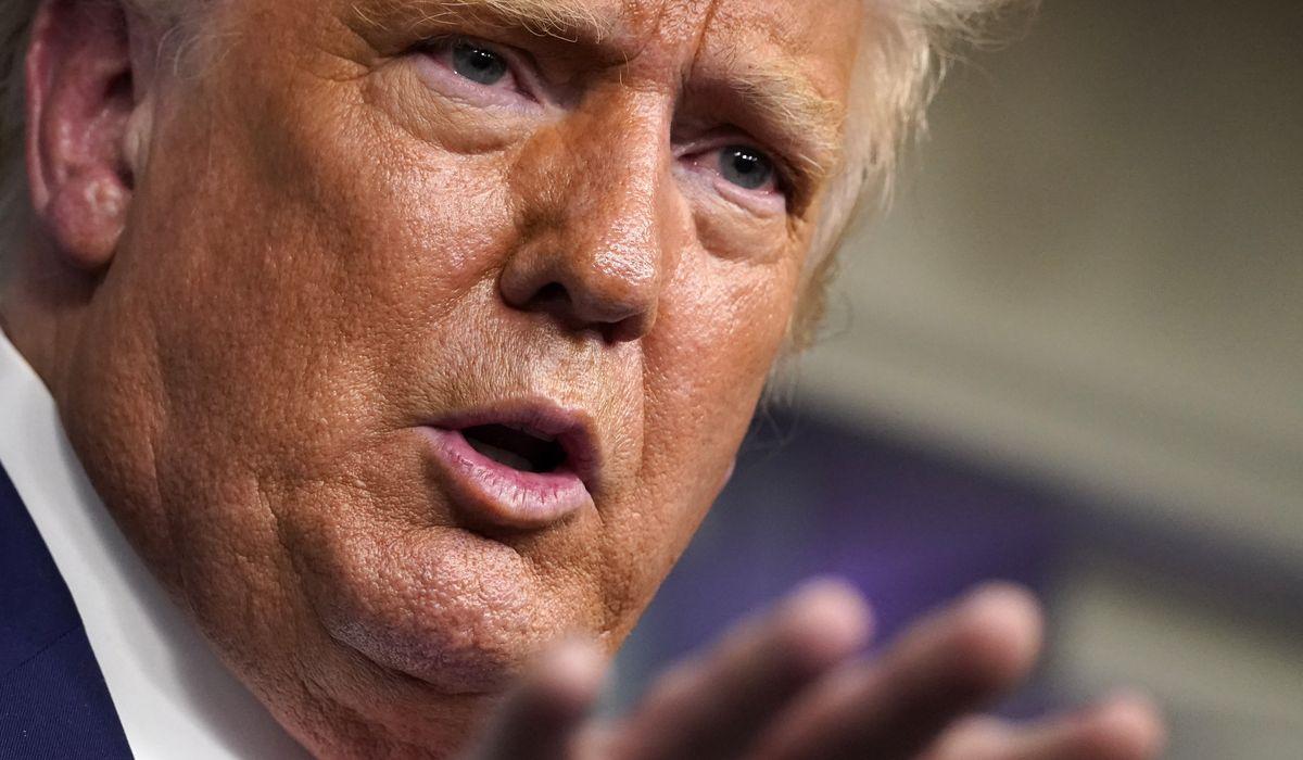Trump says coronavirus vaccine distribution starting in October