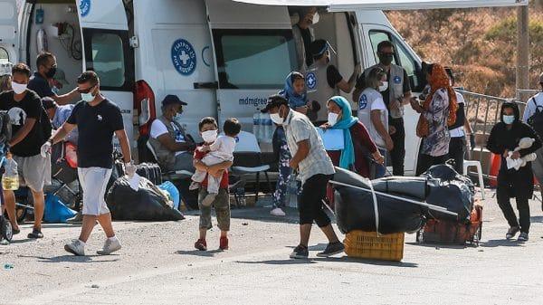 Greece: Police move refugees to new Lesbos camp after Moria fire |NationalTribune.com