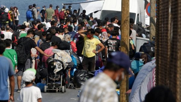 After Moria fire, refugees decry conditions in new camp on Lesbos  NationalTribune.com