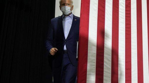 'Hidin' Biden' bets Trump will be his 'own worst enemy'