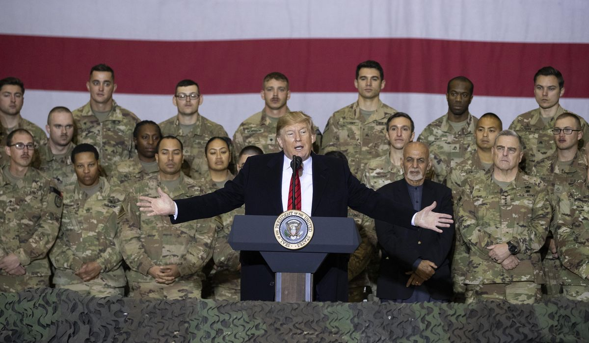 Trump fights for military vote despite early missteps