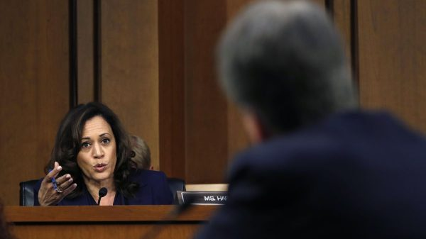 Kamala Harris set for Supreme Court showdown after coming up short against Brett Kavanaugh