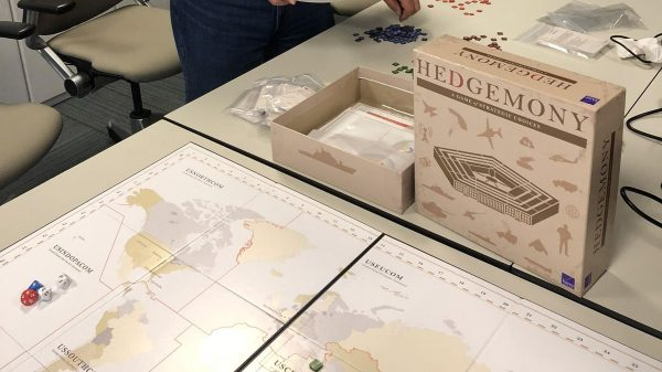 Hedgemony, RAND Pentagon war game, gives a 'secretary's-level view'