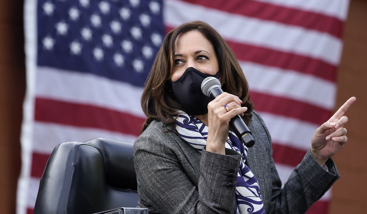 Kamala Harris: We won't let Trump 'infection' spread to Supreme Court