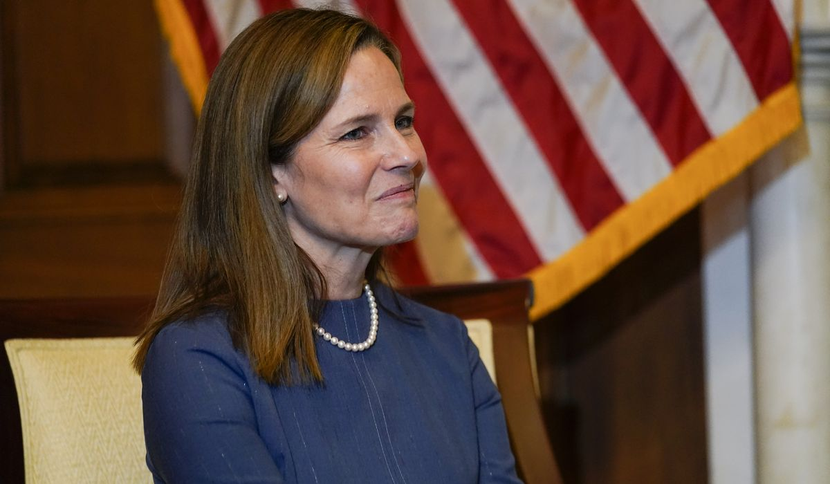 Amy Coney Barrett, Supreme Court nominee, redefines feminism