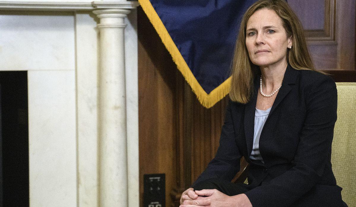 Supreme Court with Amy Coney Barrett would strengthen a broken Congress